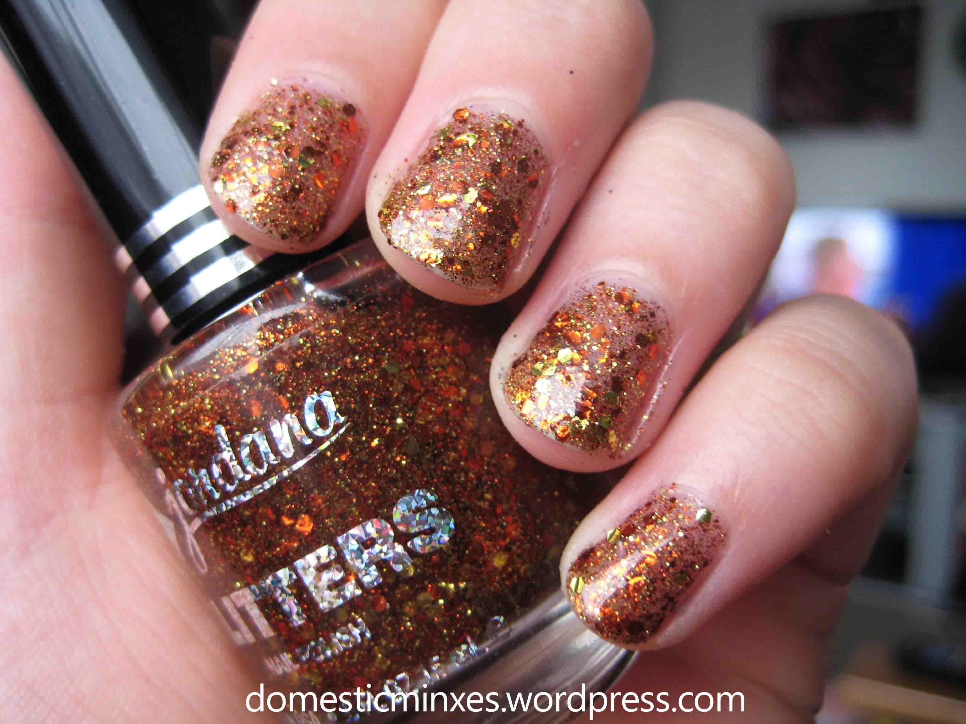Jordana Glitter Specialty Nail Polish Swatches | DomesticMinxes