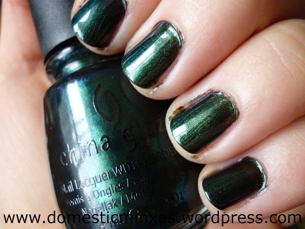 China glaze parts of the rodeo diva collection domesticminxes gussied up green greeeen polish weakness nvjuhfo Gallery
