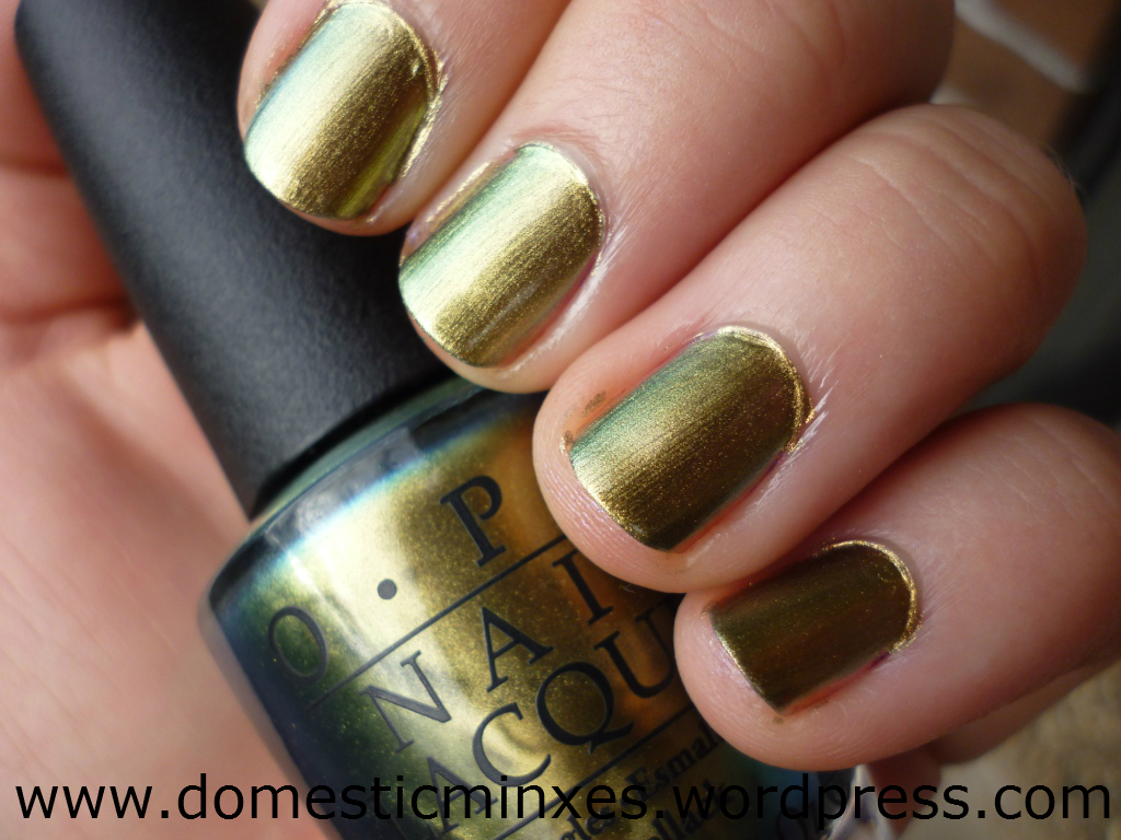 OPI Spiderman Collection – Just Spotted the Lizard ...